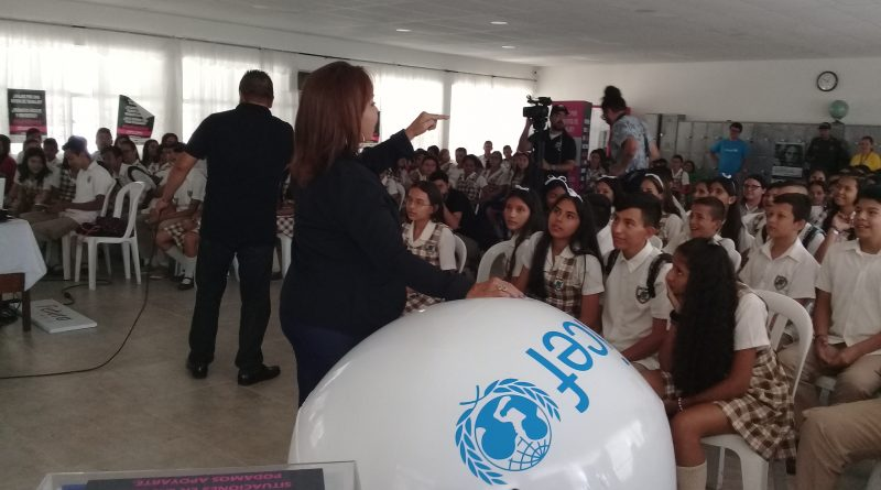 Campaña #EsoEsCuento fue presentada en el colegio Integrado Juan Atalaya de Cúcuta
