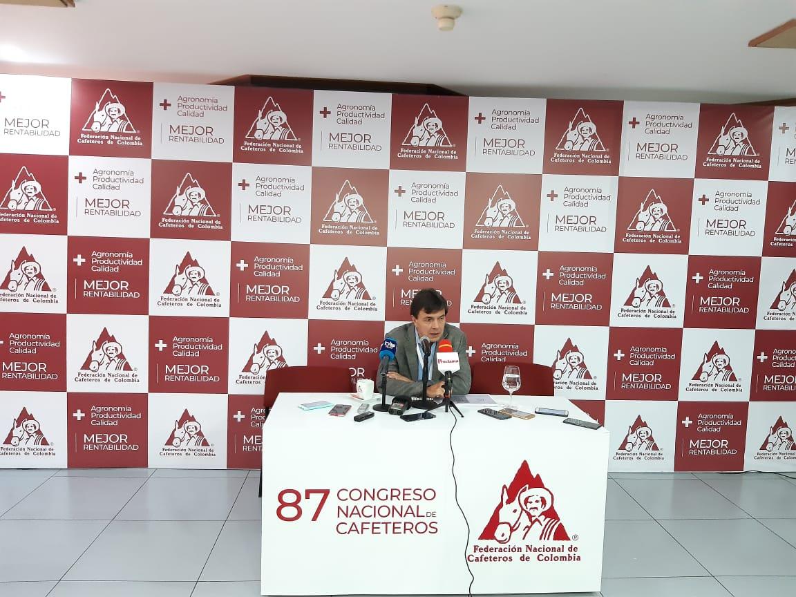 En Bogotá se adelanta 87 Congreso Nacional Cafetero