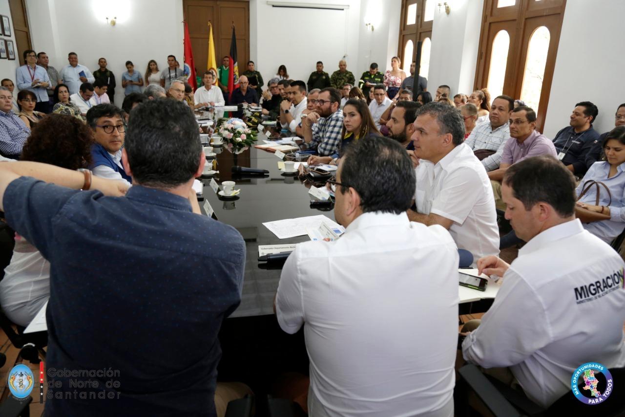 Primera mesa migratoria se adelantó en Cúcuta