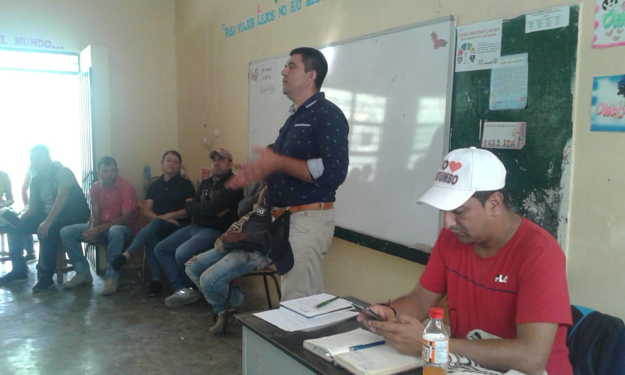 Profesores del Catatumbo se hallan en asamblea permanente