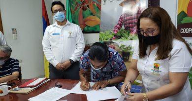 Firman contratos para comercializar café con cooperativa del Catatumbo