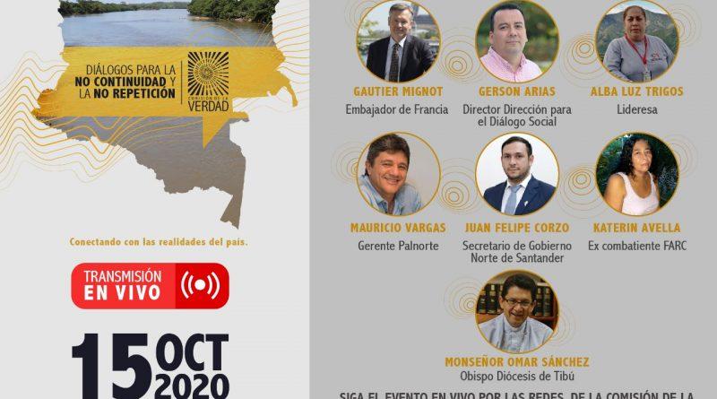 Diálogo para la no continuidad y la no repetición del conflicto armado en el Catatumbo