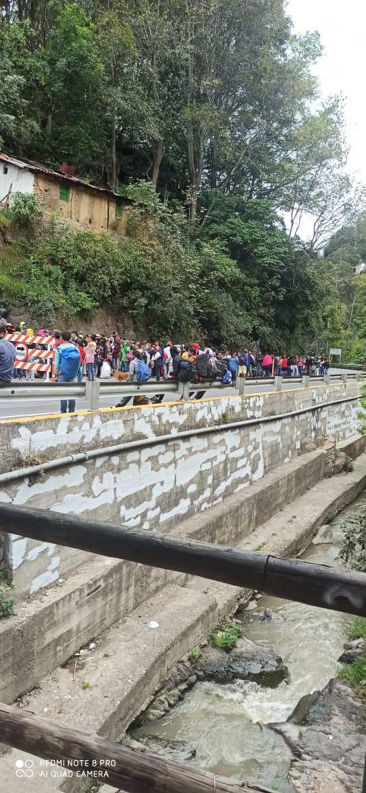 Pamploneses llaman  la atención de las autoridades ante llegada masiva de Caminantes.