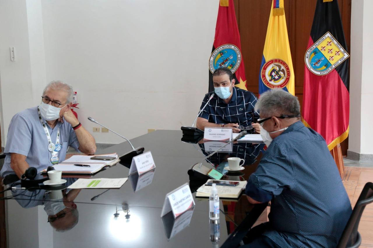 Puesto de mando unificado toma medidas necesarias para reducir contagios de covid-19 en Norte de Santander.