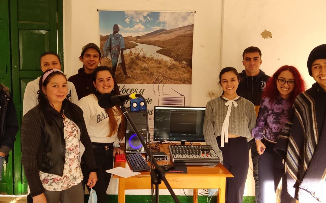 Organización Comunicarte  Fortalece Emisoras Comunitarias en municipios de Páramos