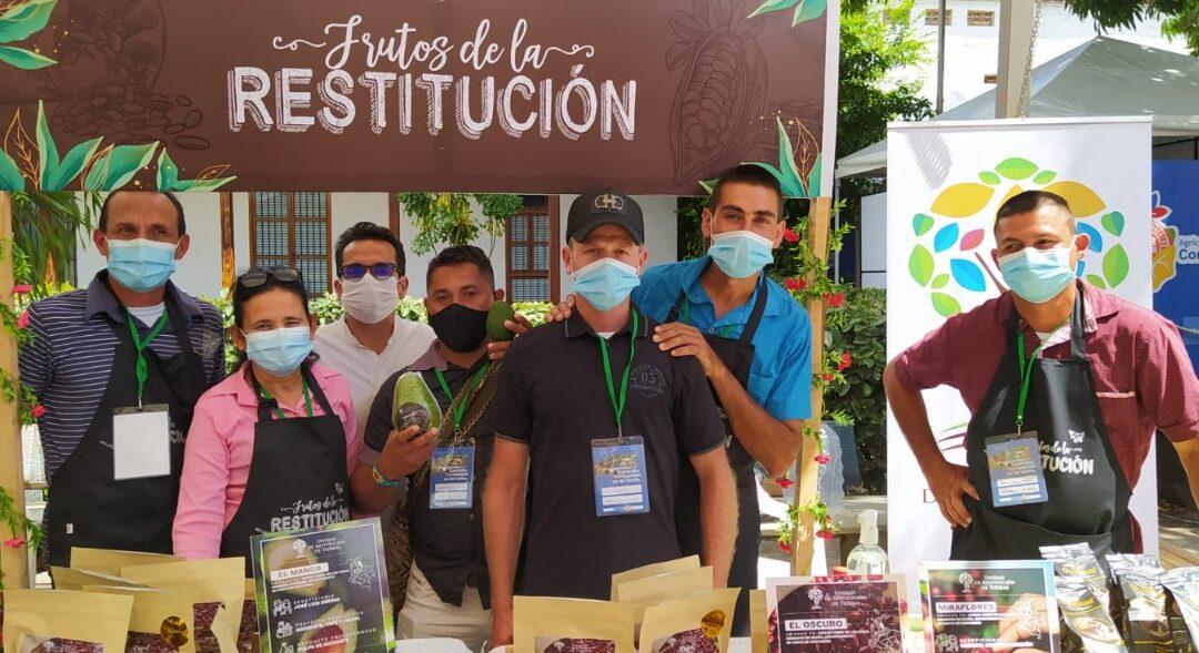 En Cúcuta se  realizó   Rueda de Negocios, con  productos cultivados por beneficiarios de Restitución de Tierras